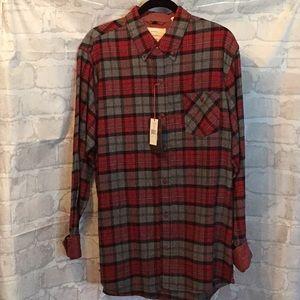 Weatherproof Flannel Shirt. NWT